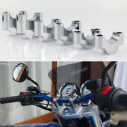 Handle Bar Risers Mount Clamp Adapter Fit For Husaberg Fe400e Fe400sm 1995-2003