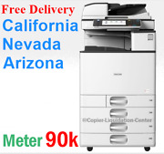 Ricoh Mp C3003 Mpc3003 Color Network Copier Print Fax Scan To Email 30 Ppm Irt