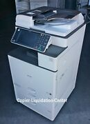 Ricoh Mpc3003 Mp C3003 Color Network Copier Print Fax Scan To Email 30 Ppm Kj