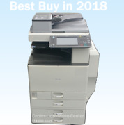 Ricoh Mpc3002 Mp C3002 Color Tabloid Copier With Finisher E Print Speed 30 Ppm D