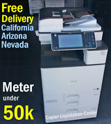 Ricoh Mpc3003 Mp C3003 Color Network Copier Print Fax Scan To Email 30 Ppm Dyy