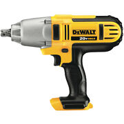 Dewalt Dcf889b 20v Max Li-ion 1/2 In. High-torque Impact Wrench Tool Only New