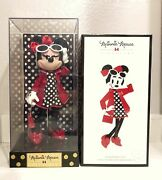 New 2017 D23 Expo Disney Store Minnie Mouse Signature Polka Dots Doll Le 523