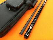 Molinari Pool Cue With Revo Shaft And Top Notch Leather Case.