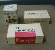 El Producto Cigar Box And Tin Group 3 Total Empty Vintage Blunt Finos Bouquets