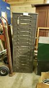 Antique Chevrolet Dealership Parts Drawers From Original Owners