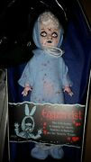 Signed Mezco Bloody Chase Blue Eggzorcist Living Dead Dolls Comic Con Exclusive