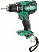 Hitachi Koki 14.4v Cordless Driver Drill Rechargeable Body Only Ds14dbsl Nn