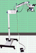 Led Dental Operating Microscope 5-step Magnification Manual Focusing By Knob Aa