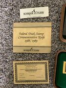 Shrade Cutlery 1988/89 Federal Duck Stamp Commemorative Knife