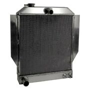 For Ford Deluxe 46-48 Afco Street Rod Performance Radiator W Transmission Cooler