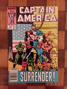 Captain America 345 1986 Newsstand Edition Nm