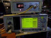 Hp Agilent Keysight 8163a With 81536a Fiber Optic Power Sensor Tested And Excellnt