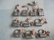10 Pc Old Iron Handcrafted Unique Shape Different Screw System Padlocks