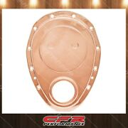 Aluminum Timing Chain Cover Fits Chevy 283 350 Small Block Sb Copper Finish