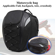 Motorcycle Tail Bag Rear Seat Bag Rider Backpack Waterproof Oxford Cloth Styling