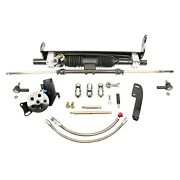 For Chevy Chevelle 68-72 Unisteer Hydraulic Power Steering Rack And Pinion Kit