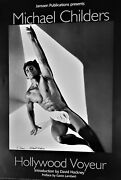 Michael Childers Hollywood Voyeur Hand Signed Lithograph Poster Sexy Sexy Male