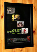 Dead Or Alive 3 Rare Xbox Play More Rare Small Poster / Old Ad Page Frame Xbox
