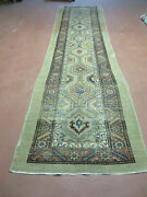 3and0394 X12and039 Antique Hand Made Turkish Wool Rug Runner Carpet Camel Hair Nice