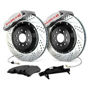 For Chevy Corvette 84-87 Baer Extreme Plus Drilled And Slotted Rear Brake System