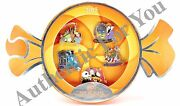 Disney Parks 2015 Mnsshp Halloween Party Le 5 Trading Pins Boxed Set Jack Sally