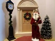 Byers Choice Carolers Victorian Santa Claus With Violin 2006