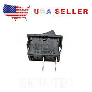 100 Kcd1-101 Small Rocker Switch On-off 6a/250 V 1/2 X 3/4 Usa Seller Mini