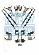 Ts - Universal Rear Active Air Smooth Ride 4link Kit 110 Tapered Air Springs