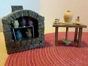 Fontanini Heirloom Collection Roman Inc Brick Outdoor Stove Collection Nativity