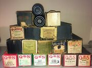 Vintage, Antique Lot Of 19 Qrs, Playrite, Imperial Player Piano Rolls, Word Roll