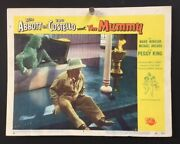 Abbott And Costello Meet The Mummy Original Lobby Card   Hollywood Posters