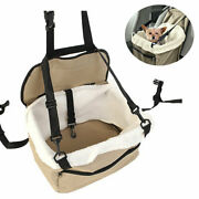 Lookout Small Dog Car Seat Pet Safety Booster Seat Foldable Bed House