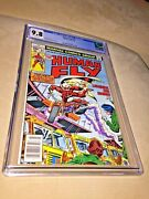 Human Fly 11, Cgc 9.8, White Pages