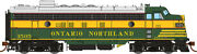 Rapido Gmd Fp7 Ontario Northland Onr Early Delivery 1505 Dcc W/ Sound -ho Scale