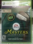 ⛳️new Tiger Woods Pga Tour 13 Masters Collector's Edxbox 360, 2012sealed⛳️