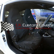 Ford Focus St Recaro Tailored Seat Covers X2 In Black 2012+ 162 162