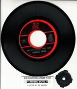Ronnie Dove One Kiss For Old Times' Sake New 7 45 Record + Juke Box Title Strip