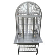 Kings Cages Aca2522 Aluminum Arch Top Bird Toy Toys Parrot Cage