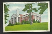 Postcard Emory Va Emory And Henry College Wiley Hall Administration Building 872