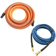 38mm, 15m Carpet Extraction Gvac Hose And 15m Solution Hose For Carpet Cleaner