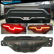 Fit 2017-2018 Toyota Chr C-hr Drl 3rd Brake Light Reverse Back Up Rear Tail Lamp