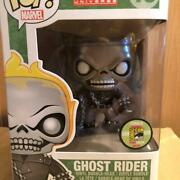 Funko Pop Sdcc 2013 Marvel Metallic Ghost Rider Figure Le 480 Limited Edition