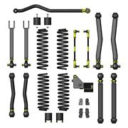 For Jeep Wrangler Jk 18 3.5 Overland Plus Front And Rear Suspension Lift Kit