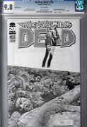 Walking Dead 100 Sketch 1200 Cover Cgc 9.8  1st App. Of Negan And Lucille