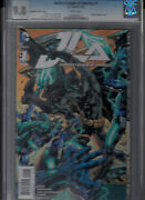 Justice League Of America 1 Aug 2015 Cgc 9.8 White Pages Variant 1100 Cvr