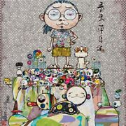Takashi Murakami With Eyes On The Reality Of One Hundred Years From Now S/n