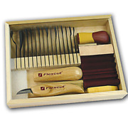 Flexcut Sk108 Starter Carving Set With Free Relief Carving Dvd