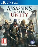 Assassins Creed Unity Playstation 4 Sony Ps4 Rpg Action Adventure Role Play Game