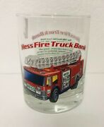 Hess Truck Glass 1986 Red Fire Truck Bank 1996 Replica Cup Gift